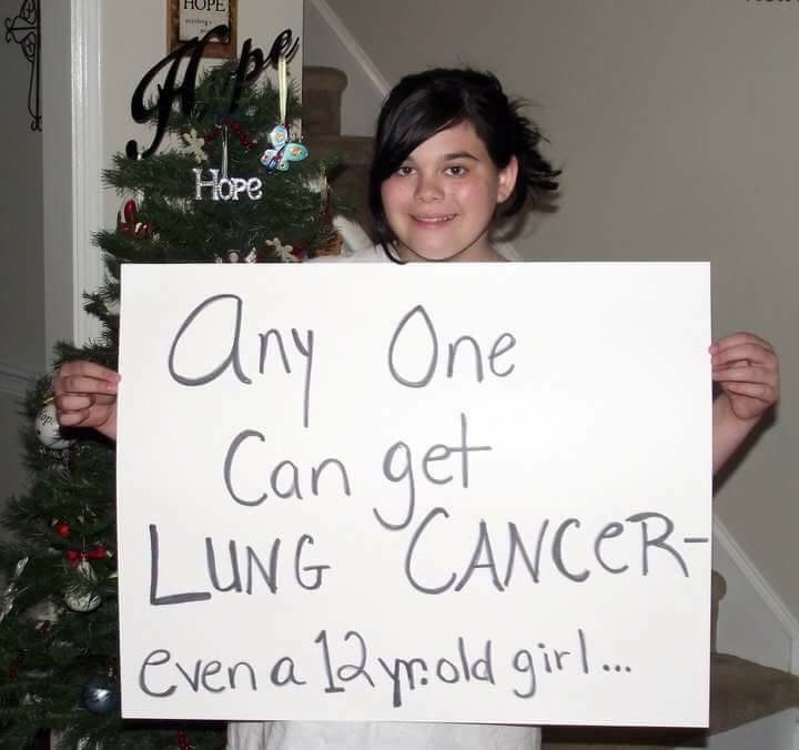 Lung cancer advocate Abby Wilson